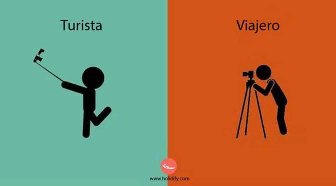 ¿Viajero o Turista? ¿Cuál eres?